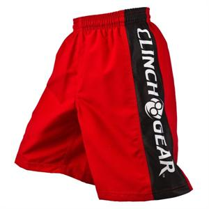 Clinch Gear Youth Performance Shorts - Red